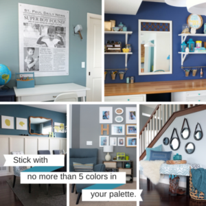 color pallet for house renovation